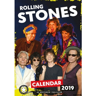 kalendár na rok 2019 - Rolling Stones, NNM, Rolling Stones