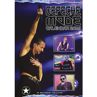 kalendár na rok 2019 - Depeche Mode, NNM, Depeche Mode