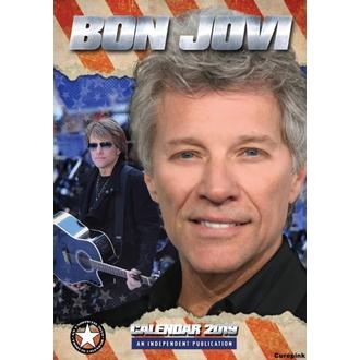 kalendár na rok 2019 - Bon Jovi, NNM, Bon Jovi