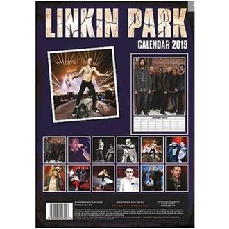 kalendár na rok 2019 - Linkin Park, NNM, Linkin Park