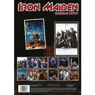 kalendár na rok 2019 - Iron Maiden, NNM, Iron Maiden