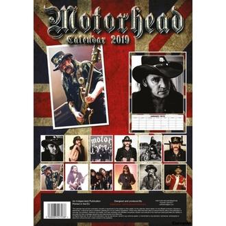 kalendár na rok 2019 - Motorhead, NNM, Motörhead