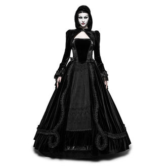 šaty dámske PUNK RAVE - Lady Amaranth Gothic wedding, PUNK RAVE