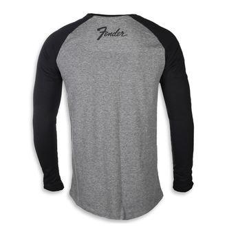 tričko pánske s dlhým rukávom FENDER, FENDER