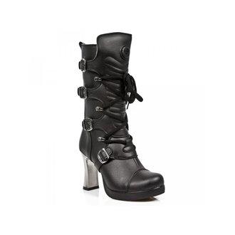 topánky dámske NEW ROCK - VEGAN NEGRO ** VEGAN **, PLATAFORMA, NEW ROCK