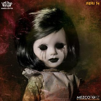 bábika Living Dead Dolls - The Time Has Come To Tell The Tale - Coalette, LIVING DEAD DOLLS