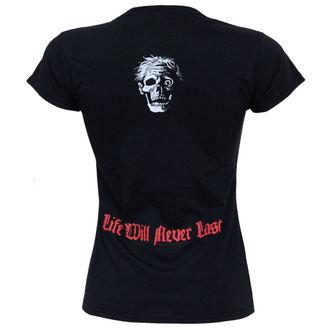 tričko dámske Death - Life Will Never Last, RAZAMATAZ, Death