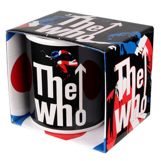 hrnček The Who - Union Jack - RAZAMATAZ