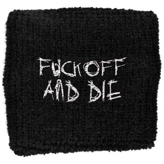 potítko Darkthrone - Fuck Off and Die, RAZAMATAZ, Darkthrone