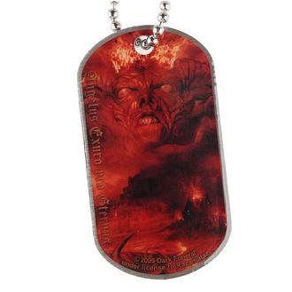 obojok 'psia známka' Dark Funeral - Angelus Exuro pre Eternus, RAZAMATAZ, Dark Funeral