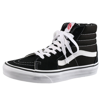 topánky VANS - Sk8-Hi - BLACK/BLACK/WHITE
