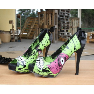 topánky dámske (črievice) IRON FIST - Ladies Zombie Stomper Platform IFL0080, IRON FIST