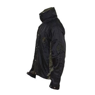 bunda pánska jarno/jesenná GRENADE - Hammer MX Jacket Motox - BLACK, GRENADE