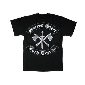 tričko pánske Sacred Steel 'Fuck Trends' - MUSICAT, MUSICAT, Sacred Steel