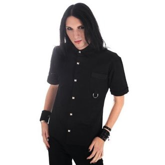 košele pánska Aderlass - Ring Shirt Denim Black, ADERLASS