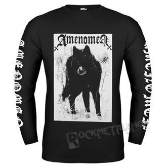 tričko pánske s dlhým rukávom AMENOMEN - SNOW WOLF, AMENOMEN