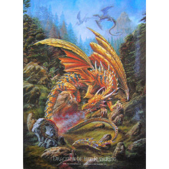 vlajka Dragons of the Runering HFL 424 , HEART ROCK