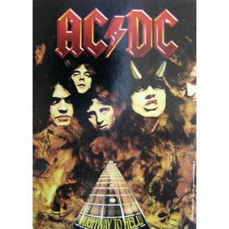 vlajka AC-DC 'Highway To Hell' HFL 746 , HEART ROCK, AC-DC