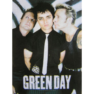 vlajka Green Day - Band Poster, HEART ROCK, Green Day