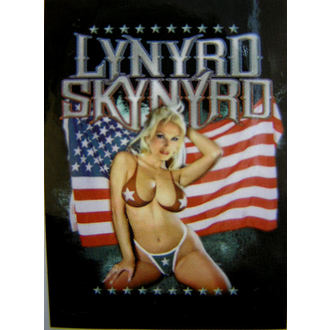 vlajka Lynyrd Skynyrd - American Flag, HEART ROCK, Lynyrd Skynyrd