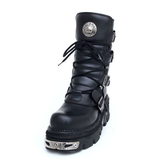 Topánky New rock - Basic Boots (373-S4) Black, NEW ROCK