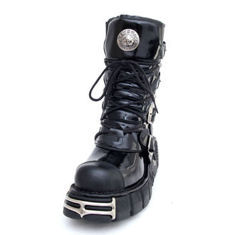 topánky New rock - Bizarre Boots (313-S1) Black, NEW ROCK