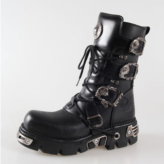 Topánky New rock - Metal Boots (391-S1) Black, NEW ROCK