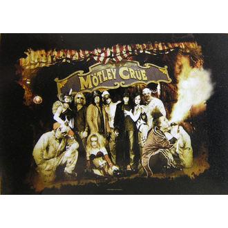 vlajka Mötley Crüe - Festival Circus, HEART ROCK, Mötley Crüe