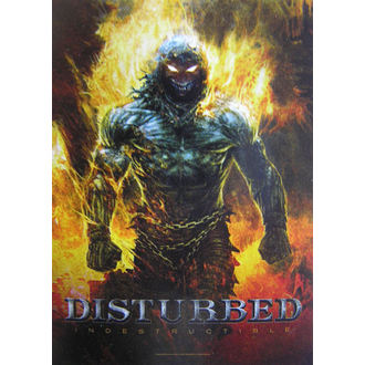 vlajka Disturbed 'Indestructible' HFL 1022 , HEART ROCK, Disturbed