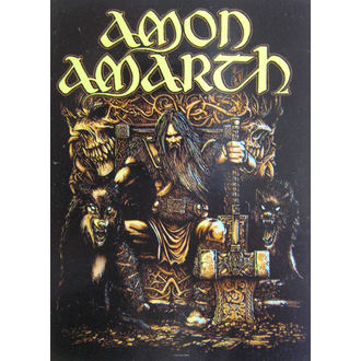 vlajka Amon Amarth HFL 1027 , HEART ROCK, Amon Amarth