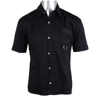 košele pánska Aderlass - Ring Shirt Denim Black, ADERLASS