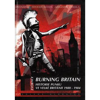 kniha Burning Britain, Punk