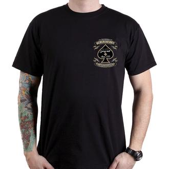 tričko pánske BLACK HEART - JAWA BOBBER - BLACK, BLACK HEART