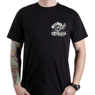tričko pánske BLACK HEART - LOLA - BLACK, BLACK HEART