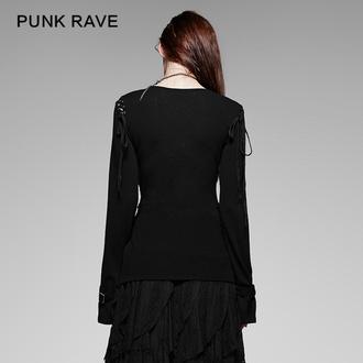 tričko dámske s dlhým rukávom PUNK RAVE - Perfect Disorder, PUNK RAVE