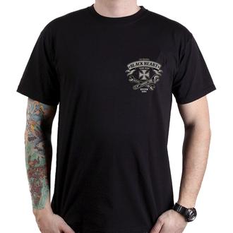 tričko pánske BLACK HEART - BH KUSTOM KING - BLACK, BLACK HEART