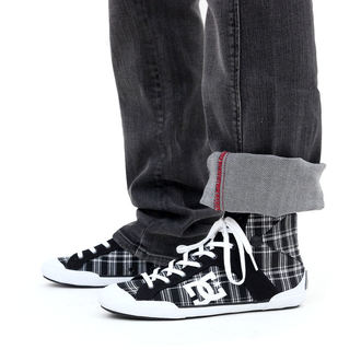 nohavice dámske (jeansy) CIRCA - Engineered Straight Jean - BLACK