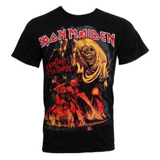 tričko pánske Iron Maiden - The Number of the Beast - EMI - IMTEE12MB