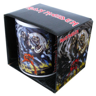 hrnček Iron Maiden 'The Number of The Beast' CID, ROCK OFF, Iron Maiden