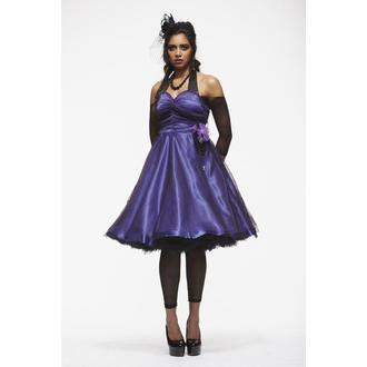 šaty dámske HELL BUNNY 'Harmony Purple', HELL BUNNY