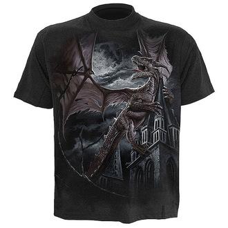 tričko pánske SPIRAL 'Dragon Kingdom' BLK, SPIRAL