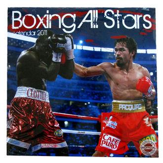kalendár nástenný Boxing All Stars 2011 , NNM