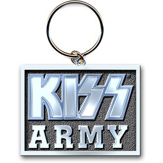 kľúčenka (prívesok) KISS 'Army Block' ROCK OFF, ROCK OFF, Kiss