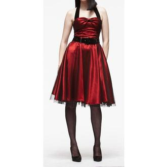 šaty dámske HELL BUNNY 'Songstree Dress (RED/BLACK), HELL BUNNY