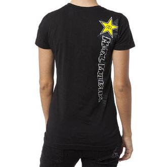 tričko dámske METAL MULISHA 'Rockstar Scrib Bler', METAL MULISHA