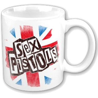 hrnček Sex Pistols - Logo Flag Fridge Boxed Mug - ROCK OFF, ROCK OFF, Sex Pistols