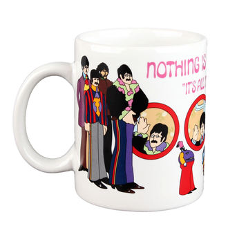 hrnček Beatles - Yellow Sub Nothing is Real Boxed Mug - ROCK OFF, ROCK OFF, Beatles