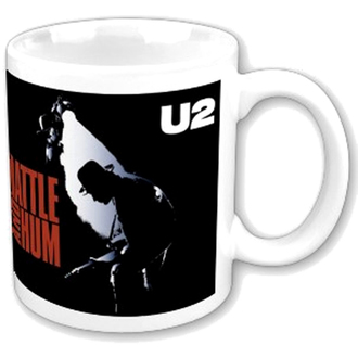 hrnček U2 - Rattle and Hum boxed Mug - ROCK OFF, ROCK OFF, U2