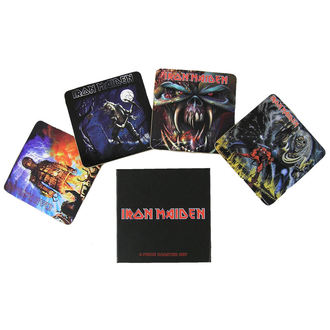 pivné podnosy Iron Maiden - Iron Maiden coaster set - ROCK OFF, ROCK OFF, Iron Maiden