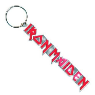 kľúčenka (prívesok) Iron Maiden - Logo with Tails Key Chain - ROCK OFF, ROCK OFF, Iron Maiden